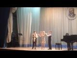 Павел Савельев в составе ансамбля исполняют-Москва патриотическая песня