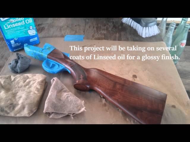Wood Refinishing Long Gun Finish