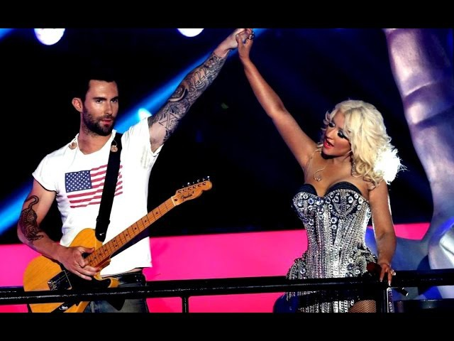 Christina Aguilera, Cee Lo Green, Adam Levine, Blake Shelton - Start Me Up (Live The Voice 2012)