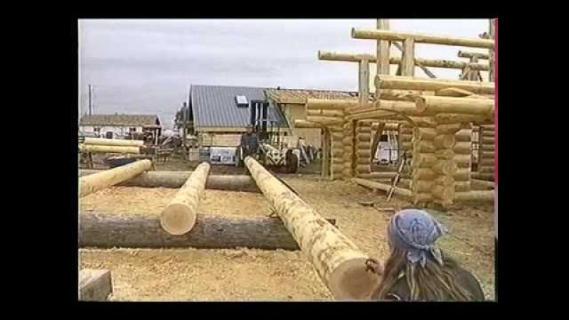Foundation, sill log layout, floor joist - How to build a Log house