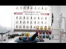 Упражнения с гирей «Жим гири лежа» Ксения Дедюхина eghfytybz c ubhtq «bv ubhb ktf» rctybz ltl.[byf