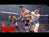 Austin Aries &amp Gentleman Jack Gallagher vs. Neville &amp TJ Perkins Raw, April 24, 2017