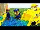Щенячий Патруль спасает ЛЕГО Сити от наводнения. Видео на английском языке.