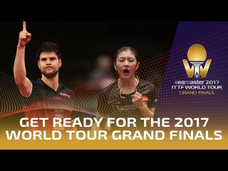Get Ready for the Million Dollar Seamaster 2017 ITTF World Tour Grand Finals