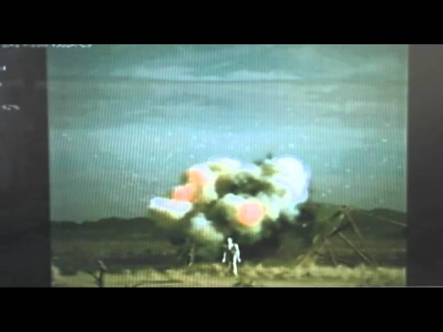 Raytheon Pyros Small Tactical Munition Warhead Flight Test