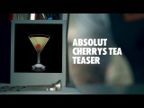 ABSOLUT CHERRYS TEA TEASER DRINK RECIPE - HOW TO MIX
