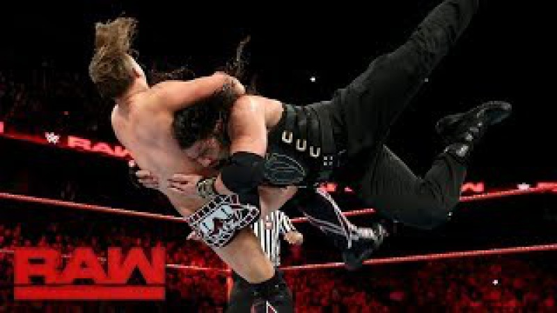 Roman Reigns vs Miz | WWE RAW