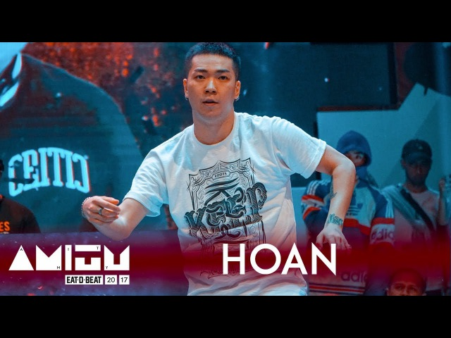Hoan KOR Judge Showcase Eat D Beat AMITY 2017 Bandung Indonesia