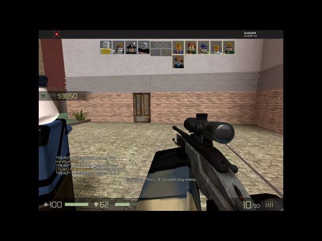 игра 2 и 3 2 раза играем в контер блокс » Freewka.com - Смотреть онлайн в хорощем качестве
