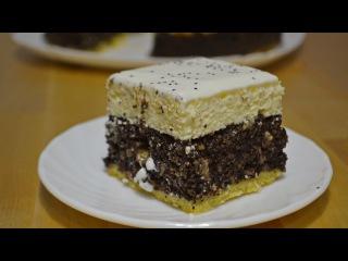 Творожно - Маковый Пирог | Очень Нежный!❆ Рождественская Выпечка Cottage cheese - poppy cake