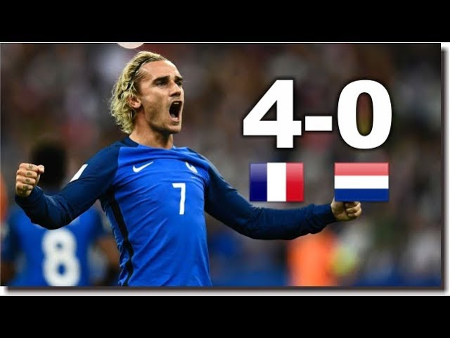 Netherlands Robben Humiliated by France 4-0 ● WC 2018 Qualifier ● HD