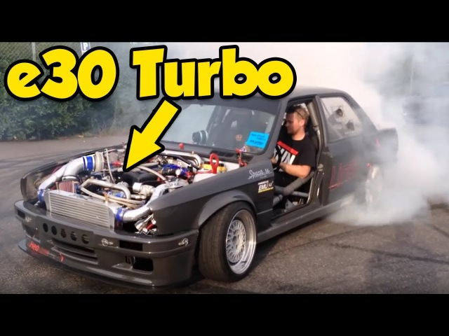 BMW E30 Turbo - BEST OF (Pure Footage)
