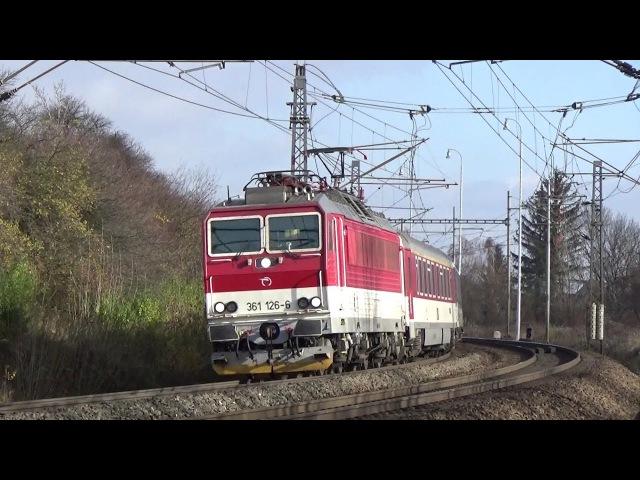 Vlaky Lipník nad Bečvou 18.11.2017