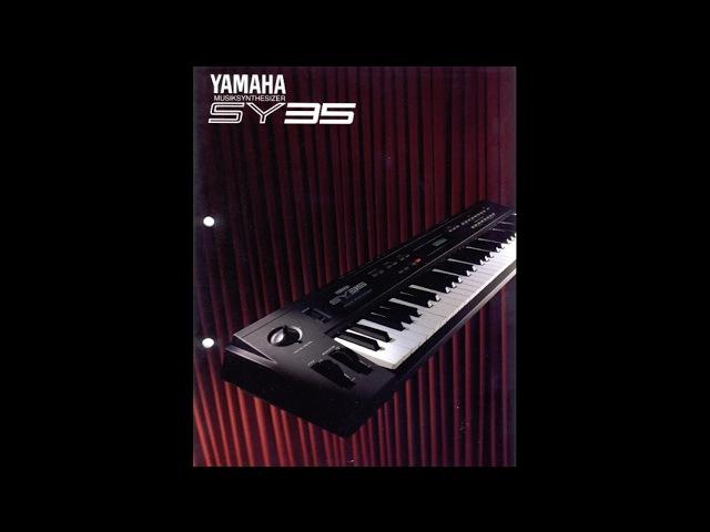 YAMAHA SY35 Factory Demo Songs 1992