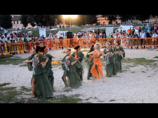 Ninfe Nereidi danze antiche - Ludi Romani 2013