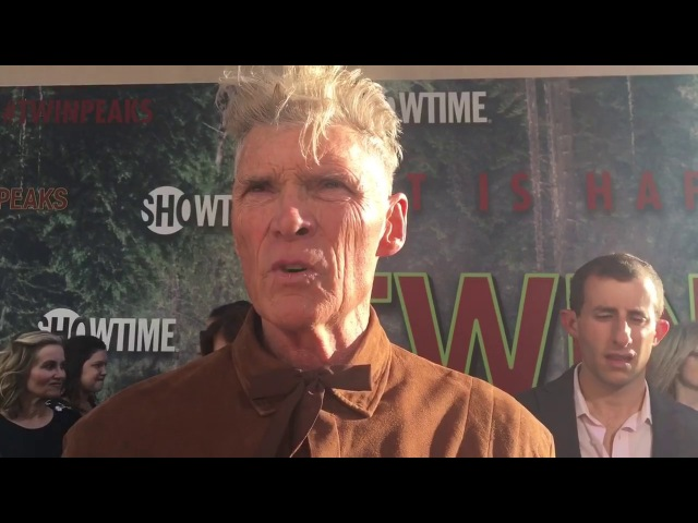 Everett McGill chats top secret 'Twin Peaks' limited series on premiere red carpet
