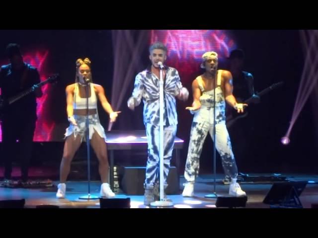 Adam Lambert Amsterdam 2016 - Lay Me Down Shady / Fever