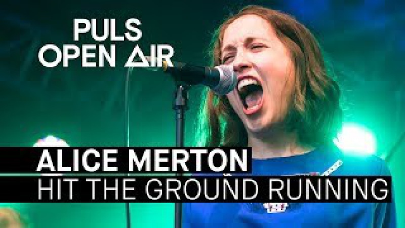 Alice Merton - Hit The Ground Running (live beim PULS Open Air 2017)