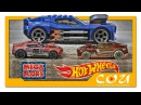MEGA BLOKS Hot Wheels родстер Twinduction | 91709 | Мега Блокс ХОТ ВИЛС | Игрушки для мальчиков