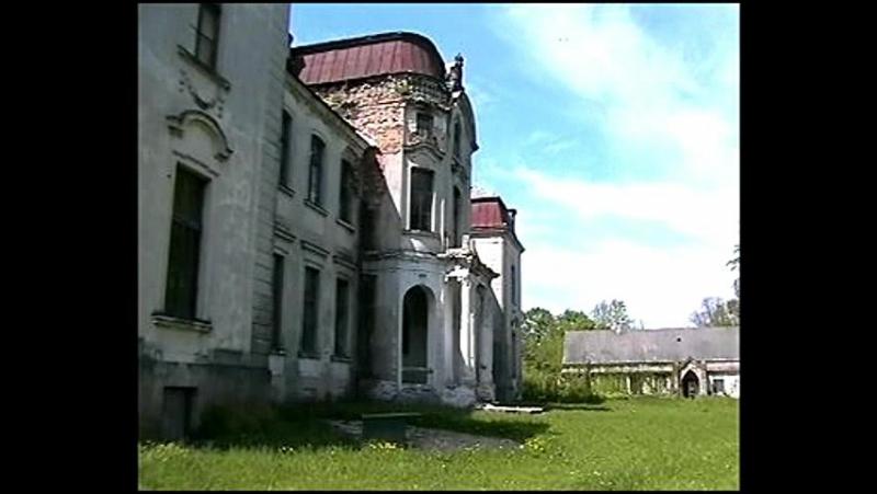 Дворец Святополк-Четвертинских в Желудке. Беларусь.