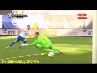 ДИНАМО - АМКАР (3:0) РФПЛ 4 тур. Полный обзор матча 05.08.17