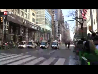 Прямо сейчас в Нью-йорке проходит парад в честь дня Святого Патрика — Прямая трансляция