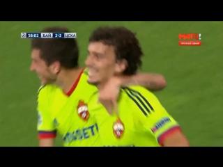 Все голы Романа Ерёменко за ПФК ЦСКА