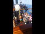 galleon boat romantik