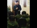 проповедь солдатам