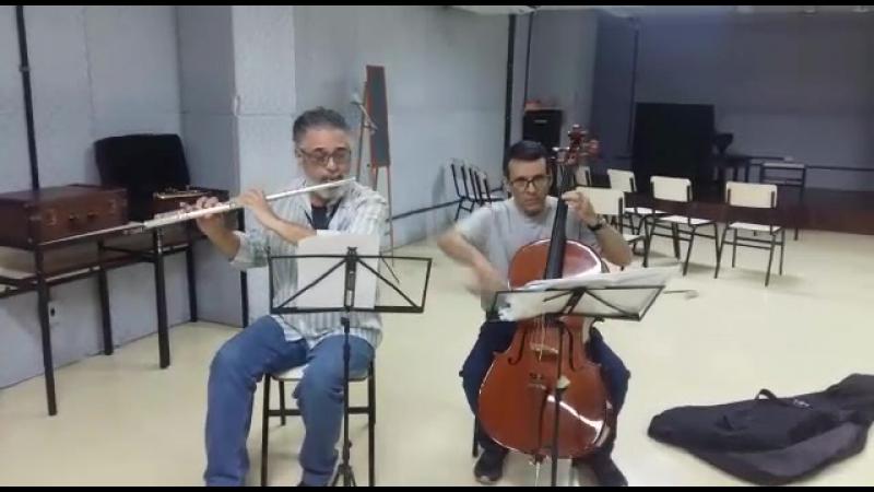 Prof. Bira e Paulo Teles