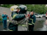Так провожают на пенсию в пожарной охране города Москвы
