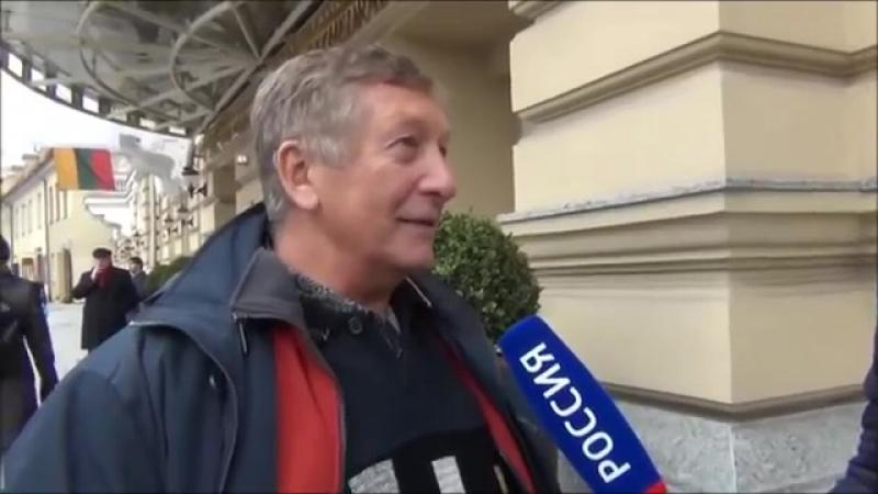 БОРОВОЙ К.опускает путинских журнашлюх в Вильнюсе (2016)