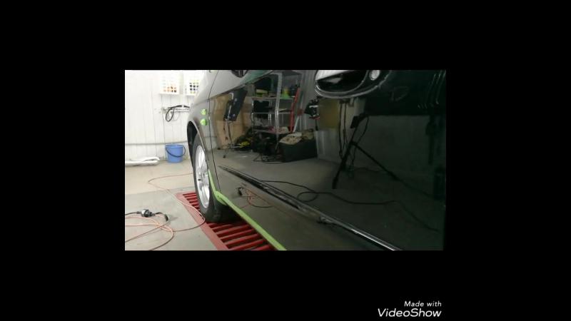 Полировка кузова Chevrolet Tacuma