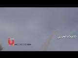 Йемен.08-06-2017.Обстрел-поражение Ф-16 ВВС КСА зенитной ракетой к  северо-востоку от Саны.