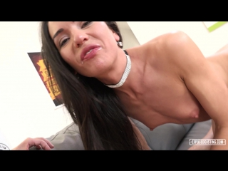 Sexy Russian babe Nataly Gold gets ass fucked at casting and eats jizz