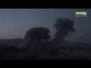 Видео ночных авиаударов по городу Ирбин.