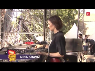 Nina Kraviz's most epic closing set! 10 minutes of tense and pounding music!