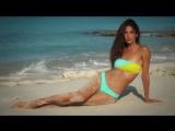 Lily Aldridge Soaks Up The Sun In Turks  Caicos - Intimates - Sports Illustrated Swimsuit