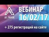 A1.Trade. Вебинар. Юрий Камельчук. 16-02-2017
