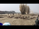Biggest explosions DUNKIRK Christopher Nolan
