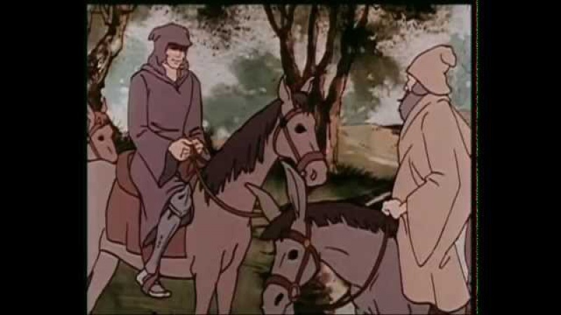 Ivanhoe (1986) cartoon Hungarian sync