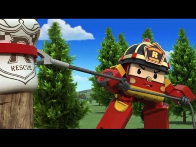 Робокар Поли - Приключение друзей - Дерево дружбы (мультфильм 8) Развивающий мультфильм для детей