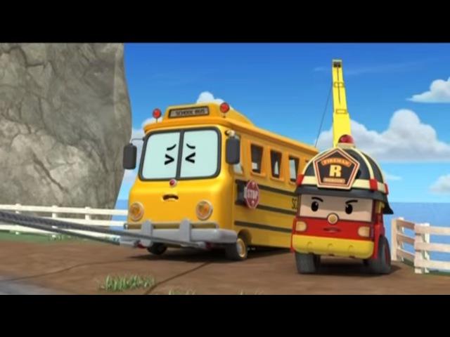 Робокар Поли Приключение друзей Поспешишь всех насмешишь мультфильм 7 Познавательные мультики