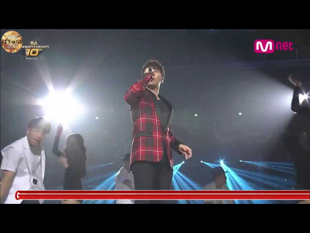 [LIVE中字]SEUNGRI - Strong Baby _140724 Mnet 10thAnniversary