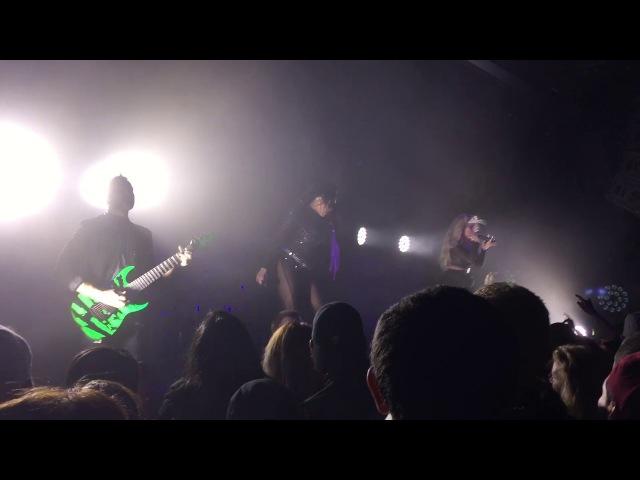 Butcher Babies Headspin live at Starland Ballroom 11/24/17