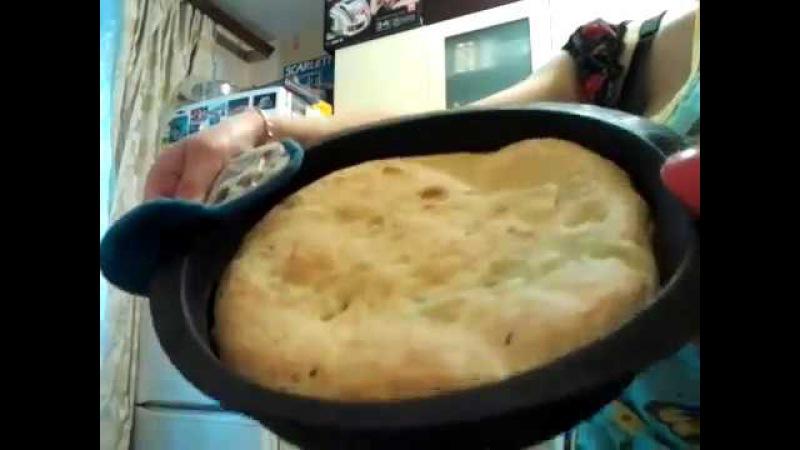 пирог с картошкой. замесочное блюдо tupperware