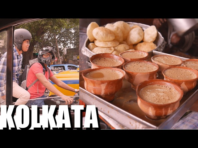 INDIAN FOOD: KOLKATA first impressions: Teas Veggie Curry Lunch: Epi 1