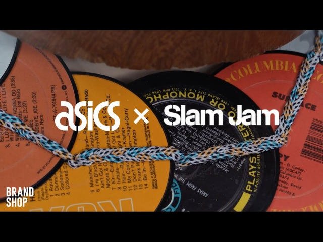 Кроссовки ASICS x Slam Jam GEL-Lyte 6THPRLLL   Коллекция коллаборации Асикс и Сдэм Джэм sneakers