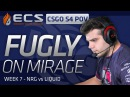 FugLy vs Liquid on Mirage ECS POV