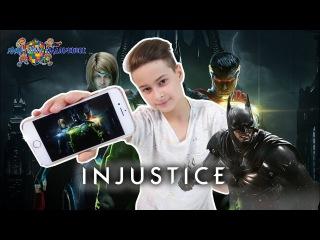 ДАНЯ играет в INJUSTICE 2! Обзор приложения. Супергерои из LIГИ СПРАVEDLИВОSТИ! Видео для ...